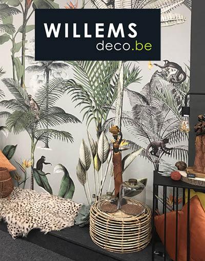 Willems Déco, Venez nous voir avec: vos envies, vos idées, vos projets Logo